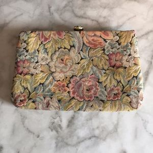 Handbags - Tapestry Clutch